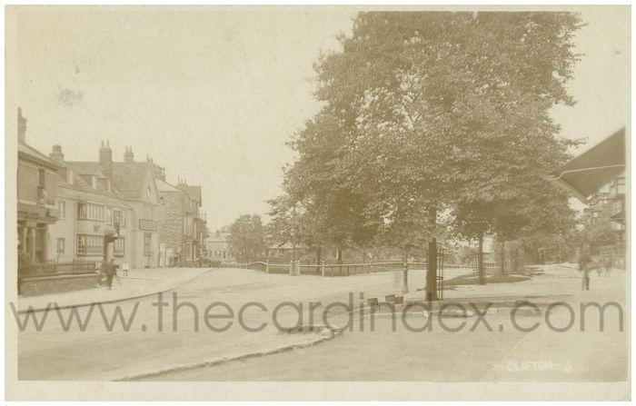 Postcard front: Clifton