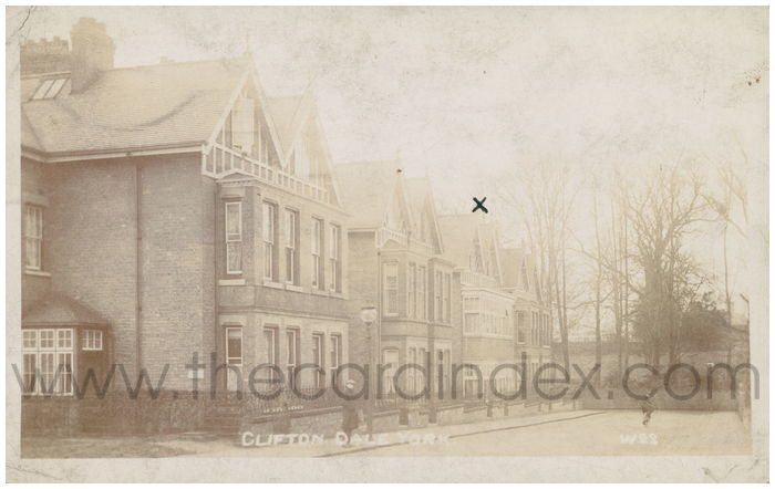 Postcard front: Clifton Dale York