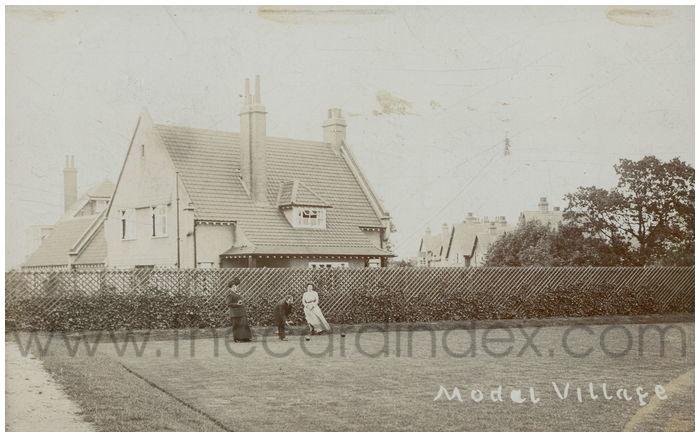 Postcard front: Model Village