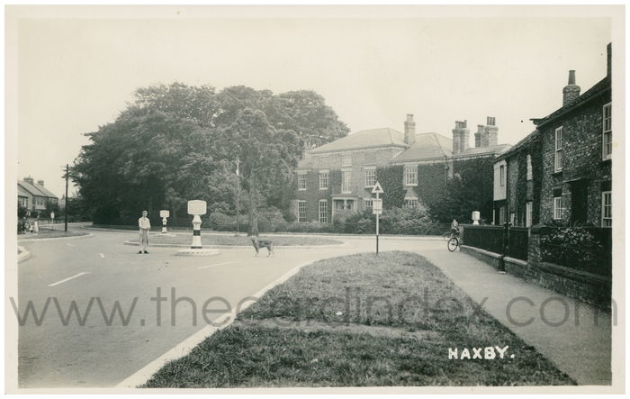 Postcard front: Haxby