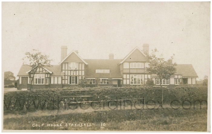 Postcard front: Golf House Strensall