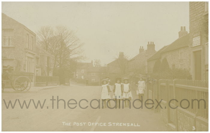 Postcard front: The Post Office Strensall