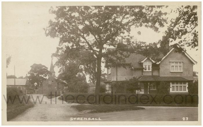 Postcard front: Strensall