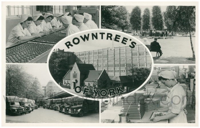 Postcard front: Rowntree's Of York