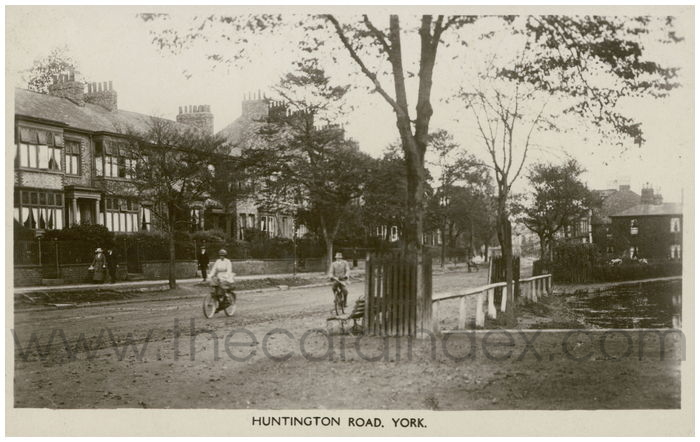 Postcard front: Huntington Road. York