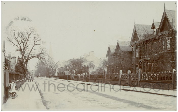 Postcard front: East Parade, Heworth