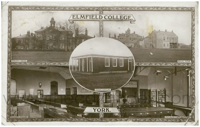 Postcard front: Elmfield College, York