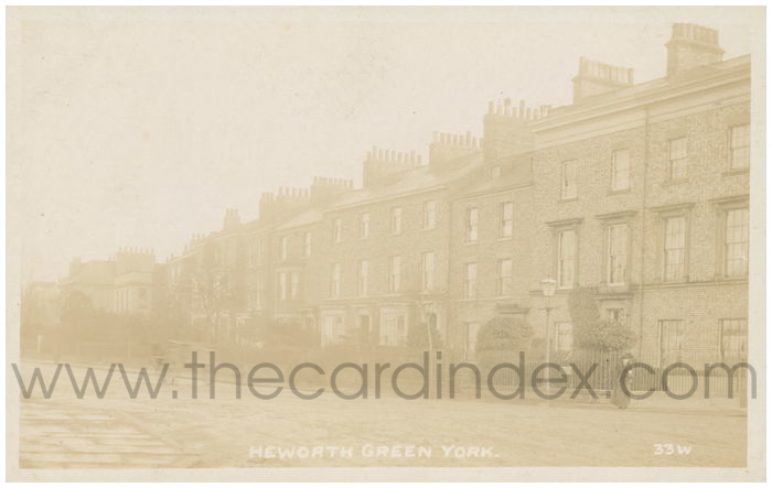 Postcard front: Heworth Green York