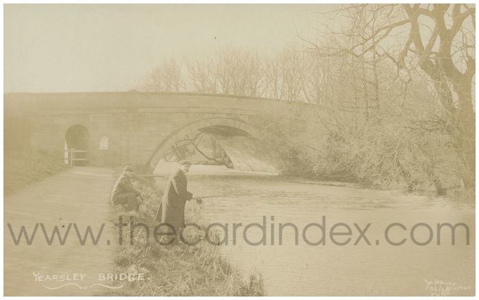 Postcard front: Yearsley Bridge