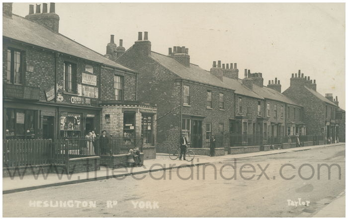Postcard front: Heslington Rd. York