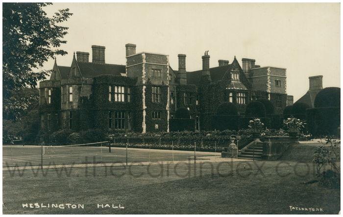 Postcard front: Heslington Hall