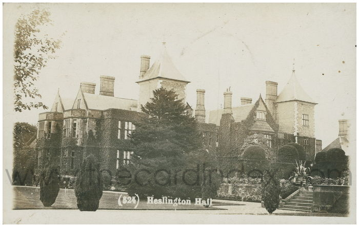 Postcard front: Heslington Hall