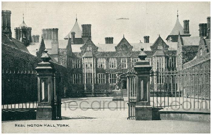 Postcard front: Heslington Hall, York