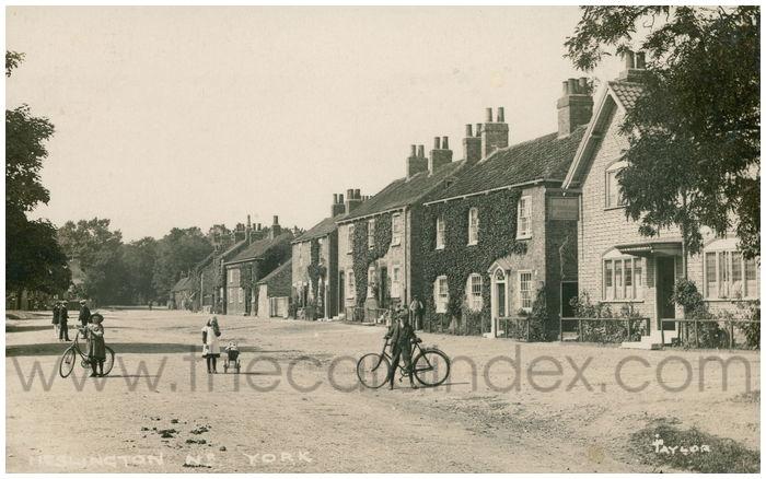 Postcard front: Heslington Nr. York