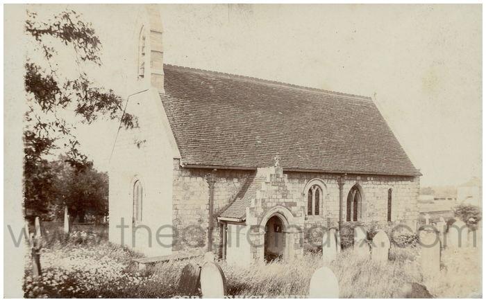 Postcard front: Osbaldwick Church