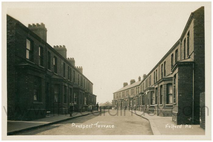 Postcard front: Prospect Terrace
