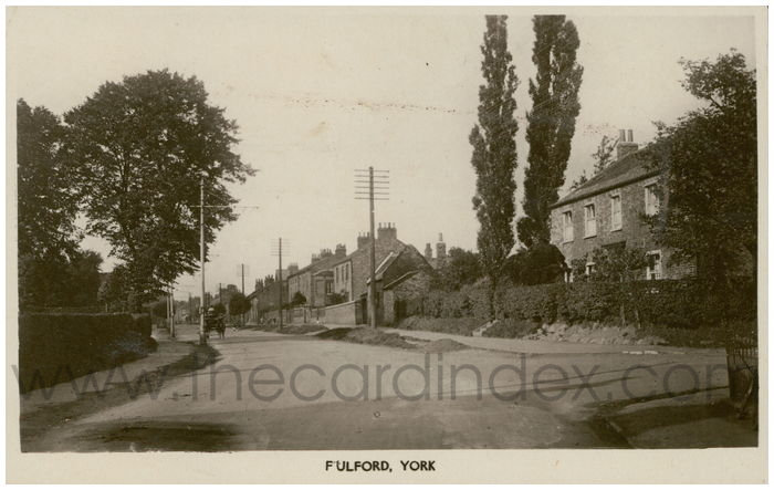 Postcard front: Fulford, York