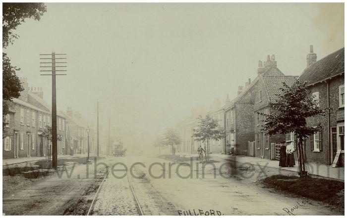 Postcard front: Fullford