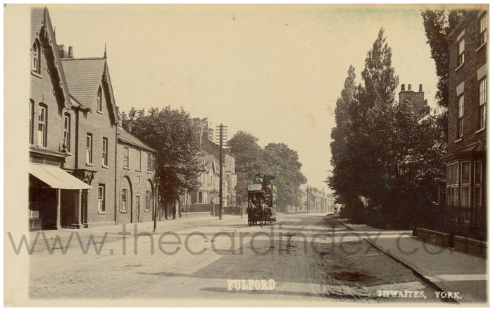 Postcard front: Fulford
