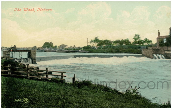 Postcard front: The Wash, Naburn
