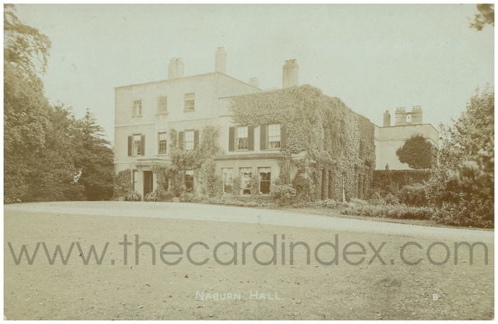 Postcard front: Naburn Hall