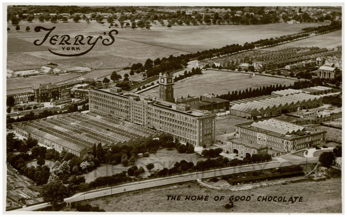 Postcard front: The Home of Good Chocolate