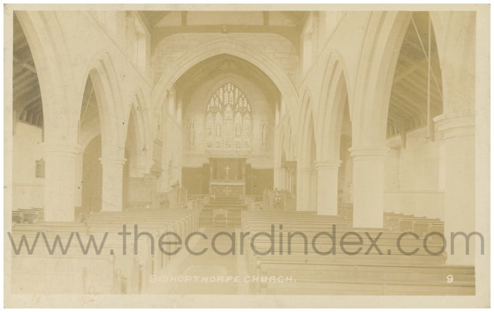 Postcard front: Bishopthorpe Church