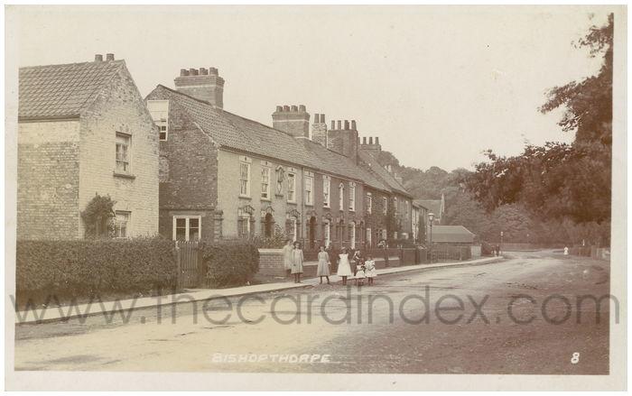 Postcard front: Bishopthorpe