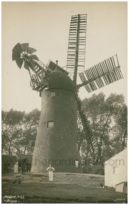 Postcard front: Holgate Mill - Acomb