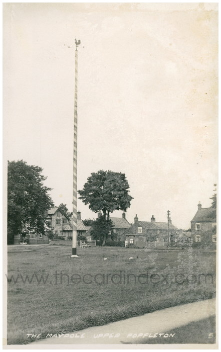 Postcard front: The Maypole Upper Poppleton