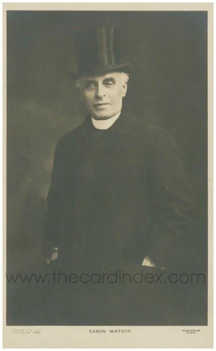 Postcard front: Canon Watson