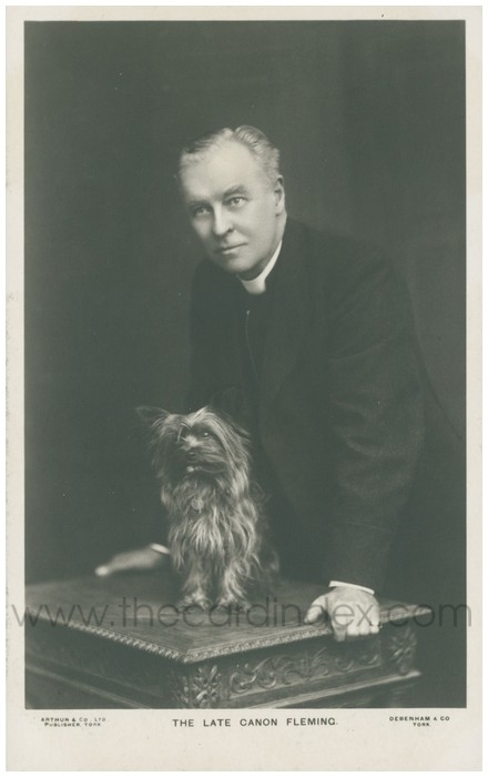 Postcard front: The Late Canon Fleming
