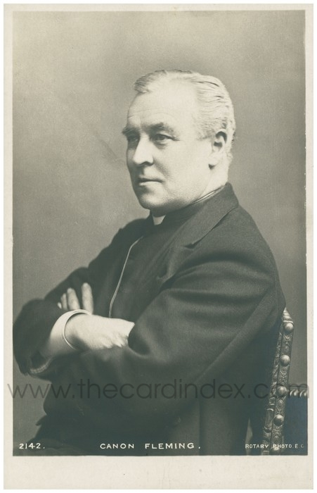 Postcard front: Canon Fleming