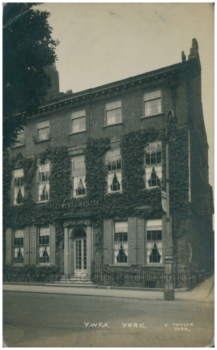 Postcard front: Y.W.C.A. York