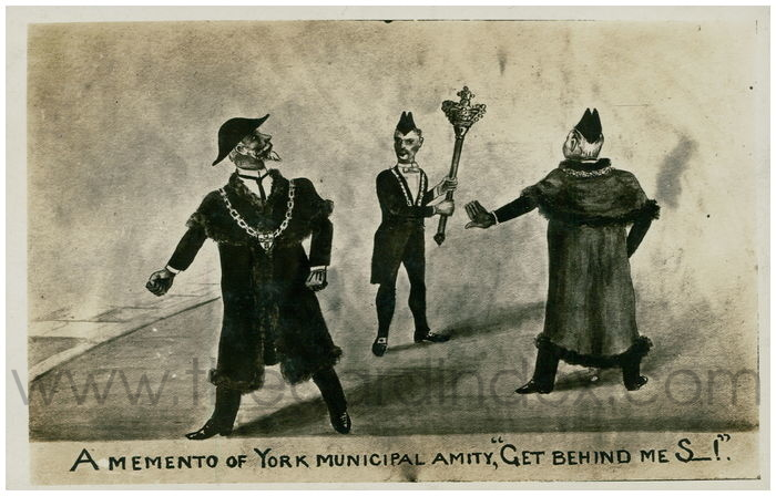 Postcard front: A Memento of York Municipal Amity,