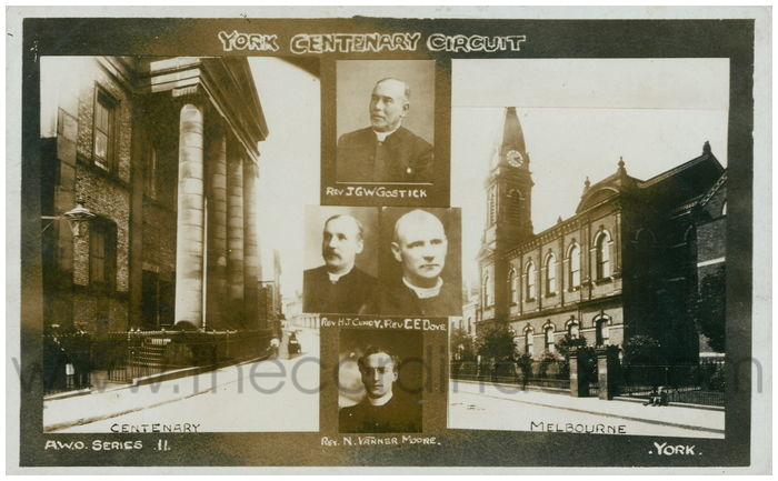 Postcard front: York Centenary Circuit