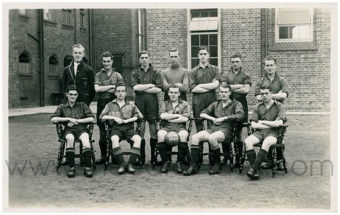 Postcard front: St. J.A.F.C. 1934-5