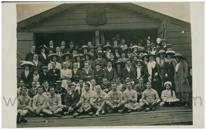 Postcard front: York City Rowing Club