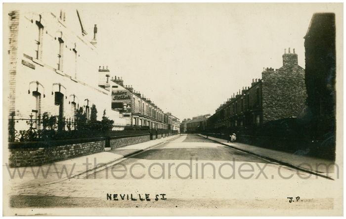 Postcard front: Neville St