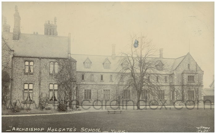 Postcard front: Archbishop Holgate's School - York