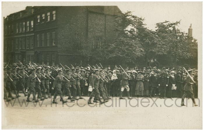 Postcard front: Admiral Cradock's Memorial York Minster