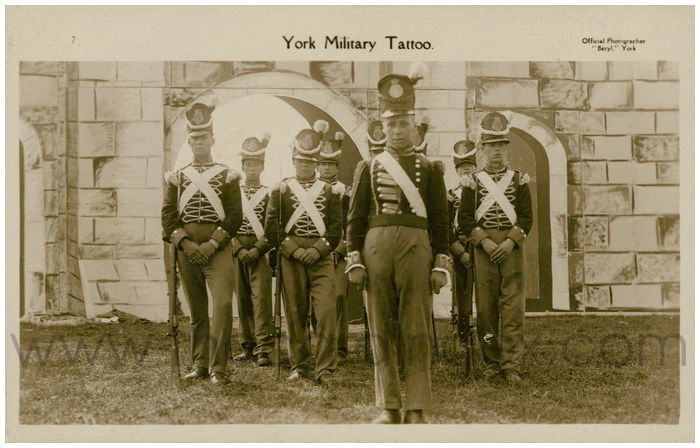 Postcard front: York Military Tattoo