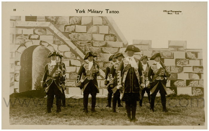 Postcard front: York Military Tattoo