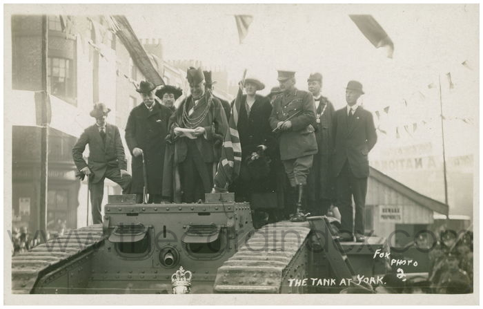 Postcard front: The Tank at York