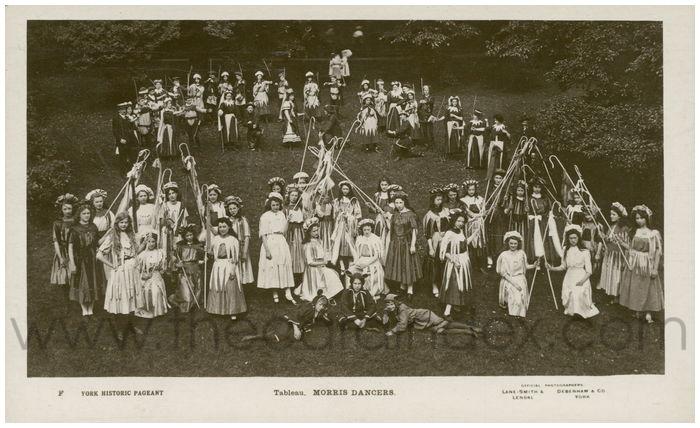 Postcard front: Tableau. Morris Dancers