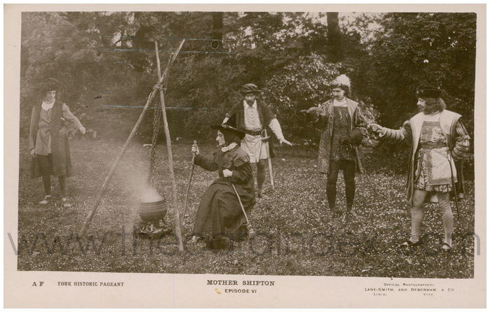 Postcard front: Mother Shipton