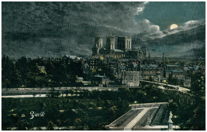 Postcard front: York