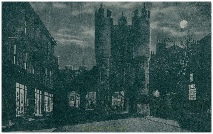 Postcard front: Micklegate Bar, York