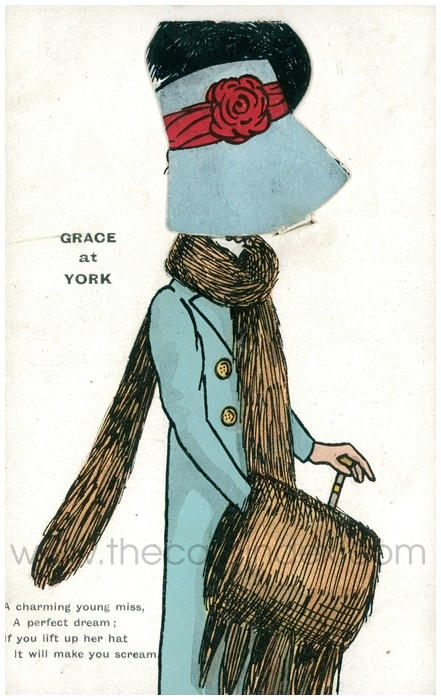 Postcard front: Grace at York