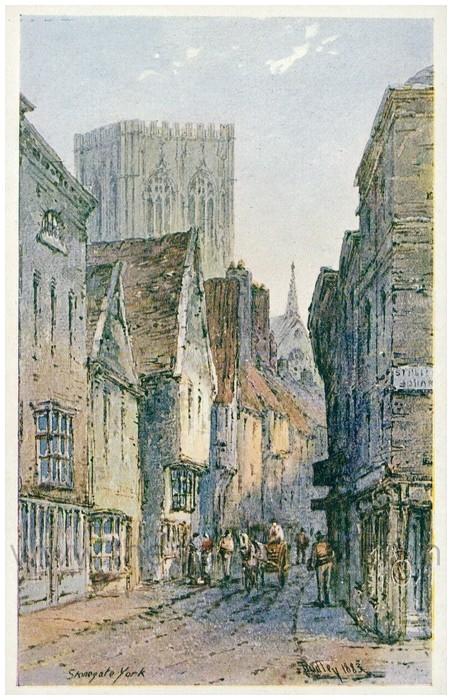 Postcard front: Stonegate York